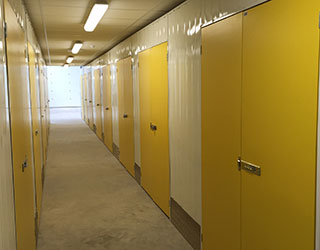 light, dry and secure storage units