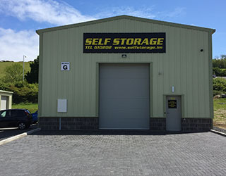 new self storage unit in white hoe industial estate
